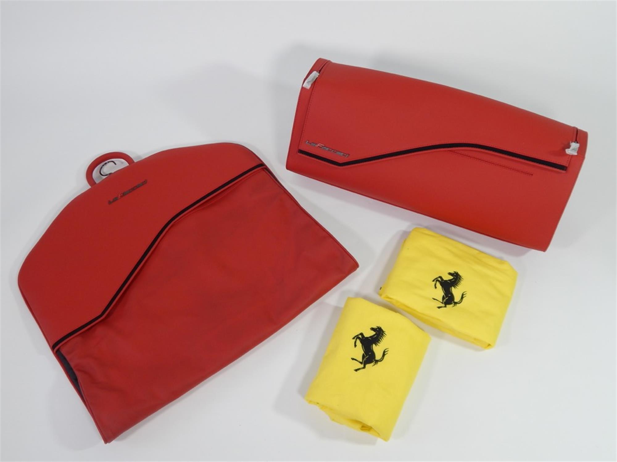 2013 - 2016 Ferrari LaFerrari 2 Piece Complete Schedoni Luggage Set