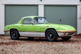 1972 Lotus Elan Sprint FHC