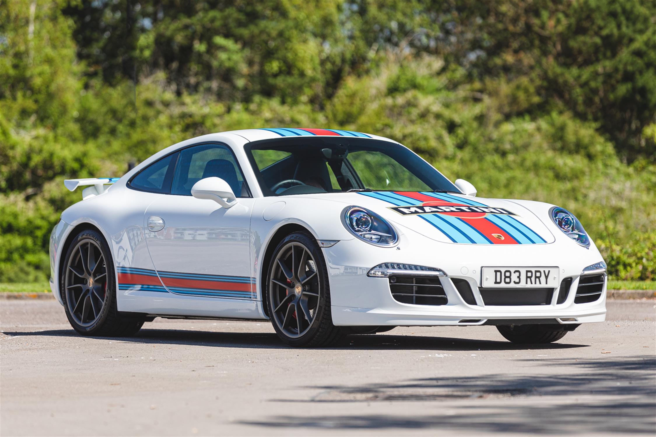 2014 Porsche 911 (991) 3.8 Martini Racing Edition (RHD)