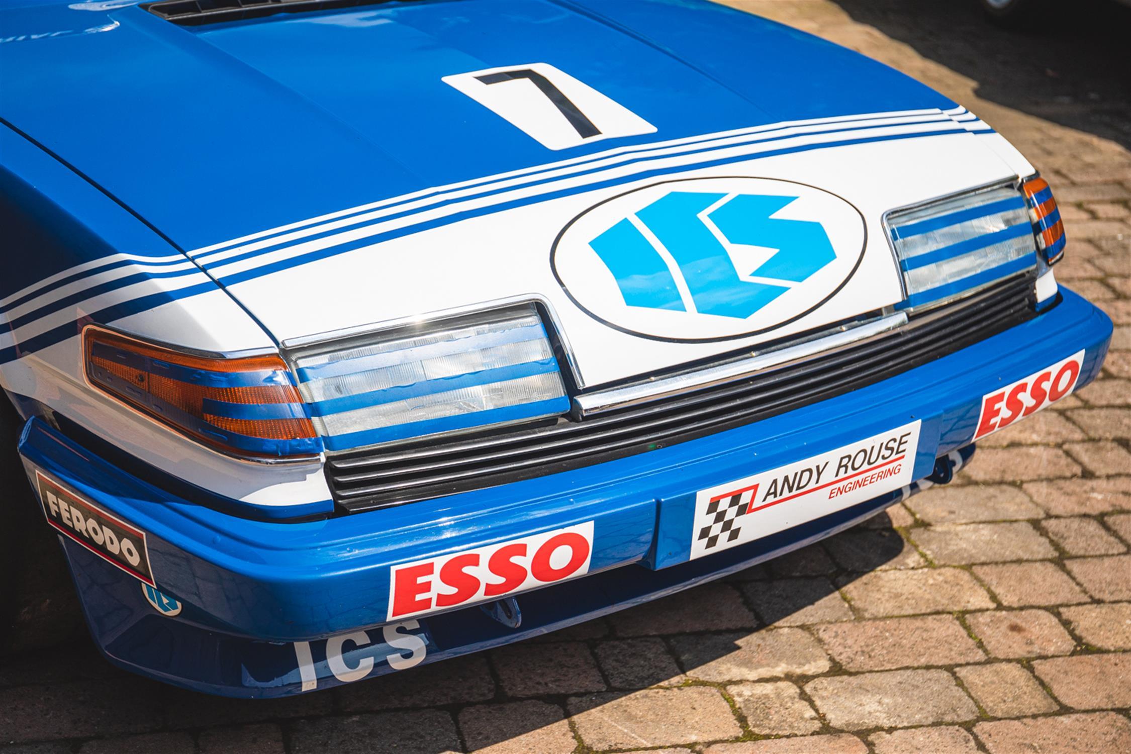 BTCC Championship-Winning 'Group A' ICS Rover Vitesse - Ex-Andy Rouse - Image 11 of 12