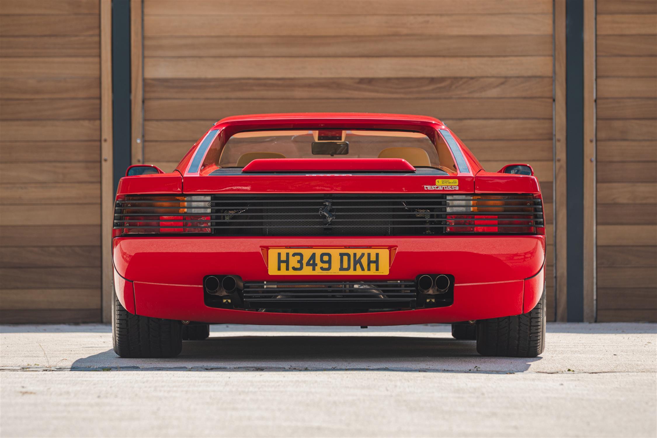 1991 Ferrari Testarossa - 1,829 Kilometres From New & Classiche'd - Image 9 of 15
