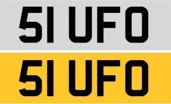 Registration Number 51 UFO