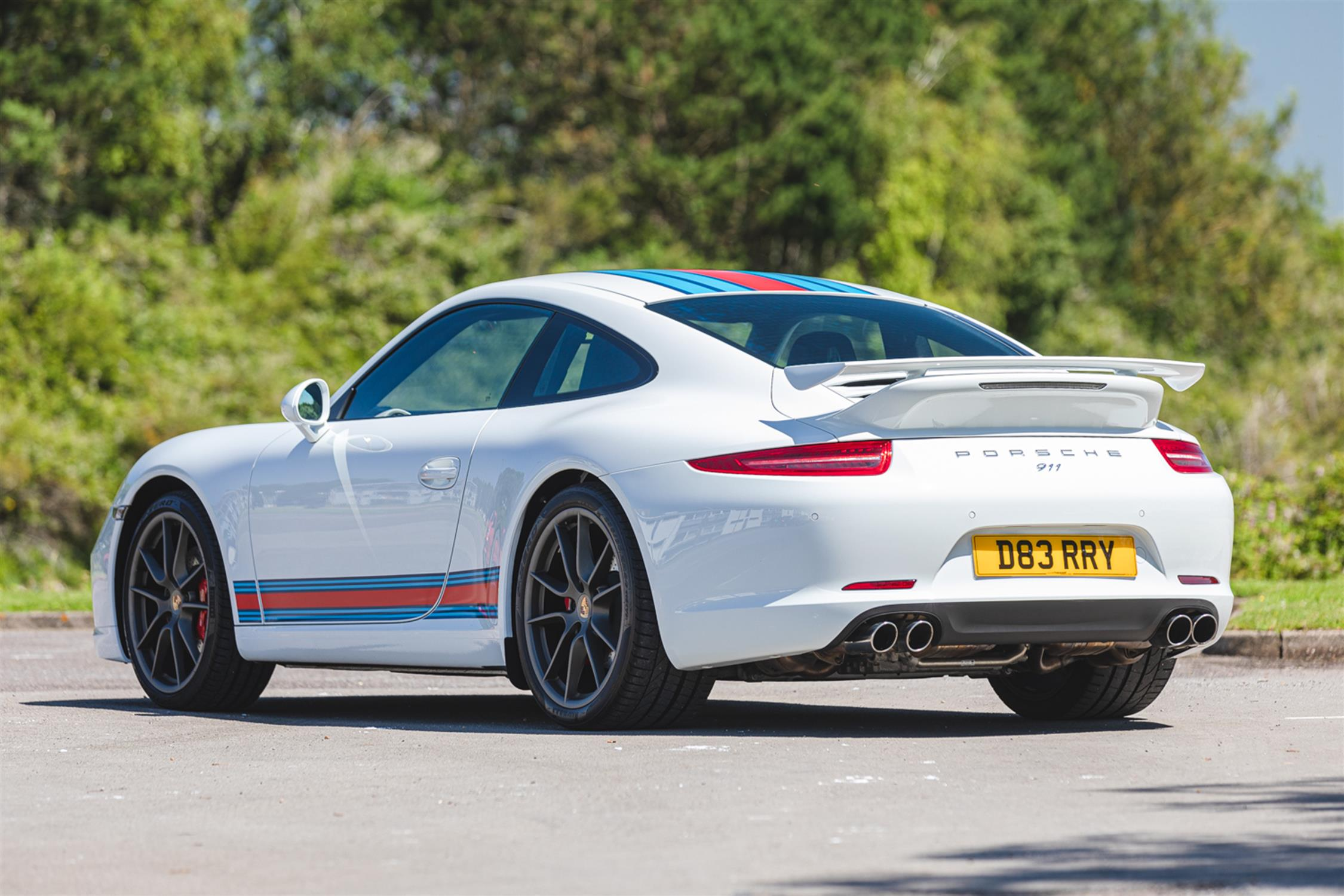 2014 Porsche 911 (991) 3.8 Martini Racing Edition (RHD) - Image 3 of 10