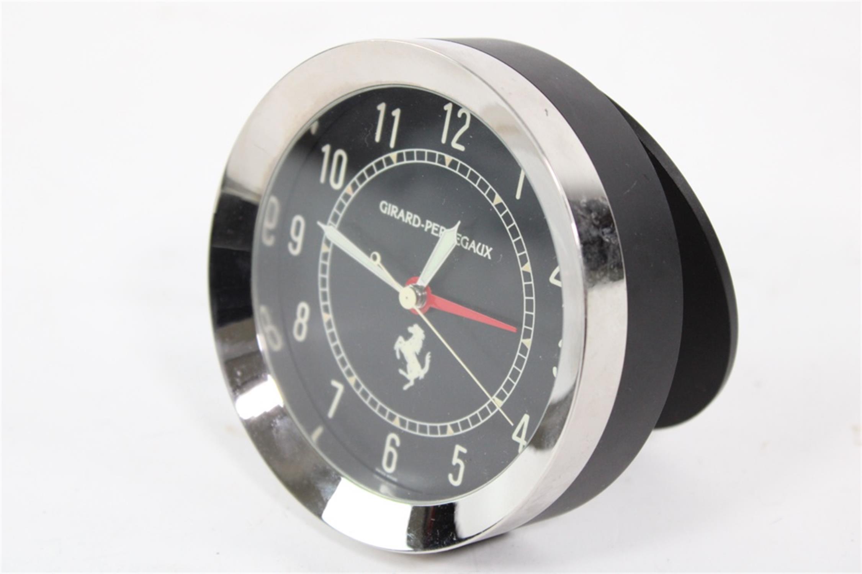 Ferrari Girard Perregaux Quartz Desk Clock Swiss Made 250 308 246 355 - Image 2 of 8