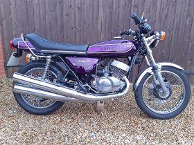 1975 Kawasaki 750 H2C