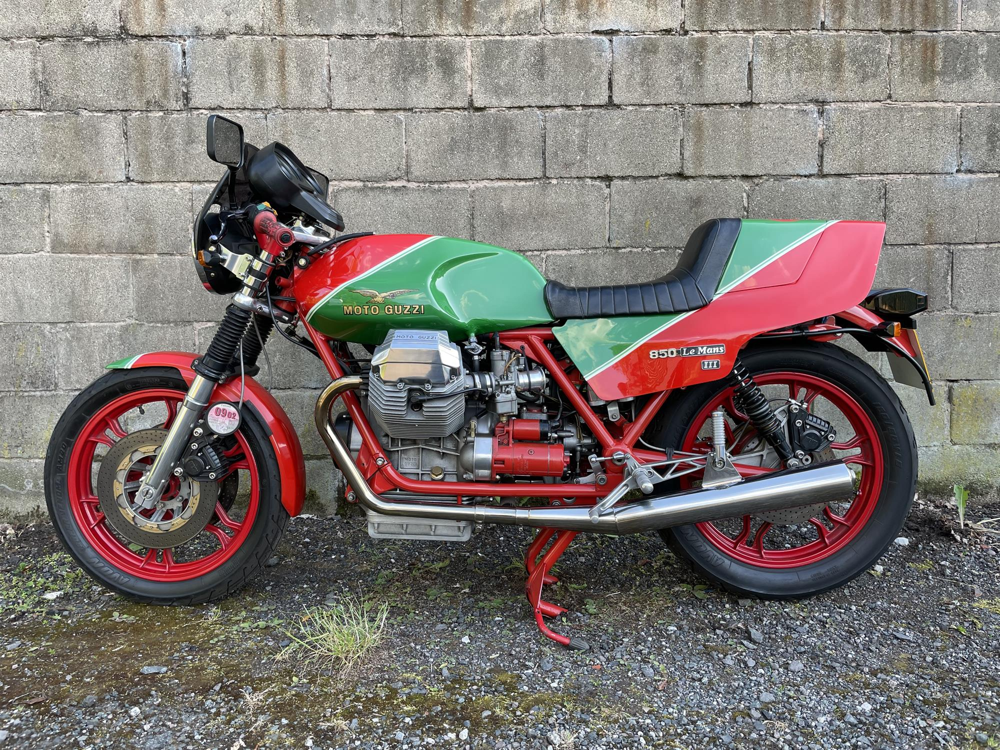 1983 Moto Guzzi 850 Le Mans III - Image 6 of 10