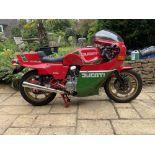 1983 Ducati 864cc Mike Hailwood Replica