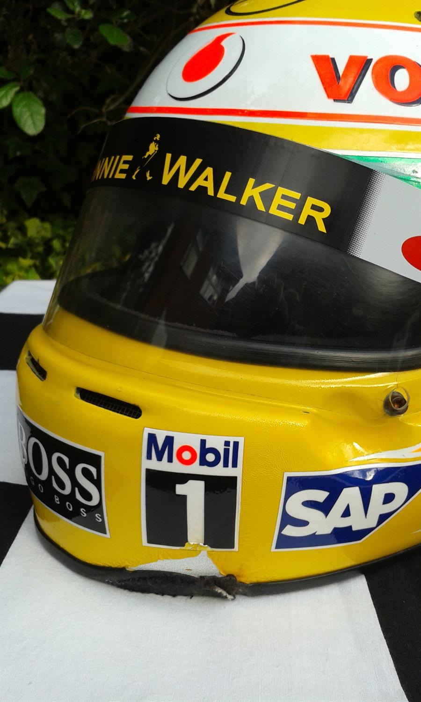Lewis Hamilton 2008 World Championship winning Year Replica Helmet - Image 2 of 3