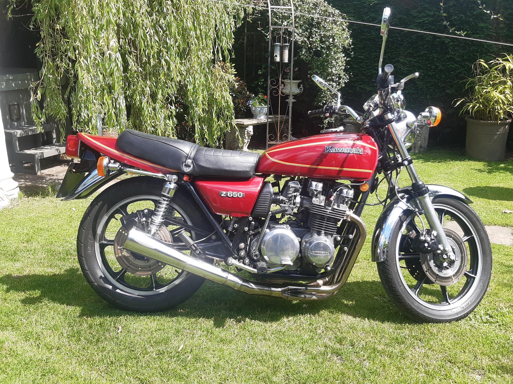 1979 Kawasaki Z650