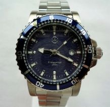 A Super Rare and Unused Mercedes-Benz Submariner Classic Divers Professional Sports Watch