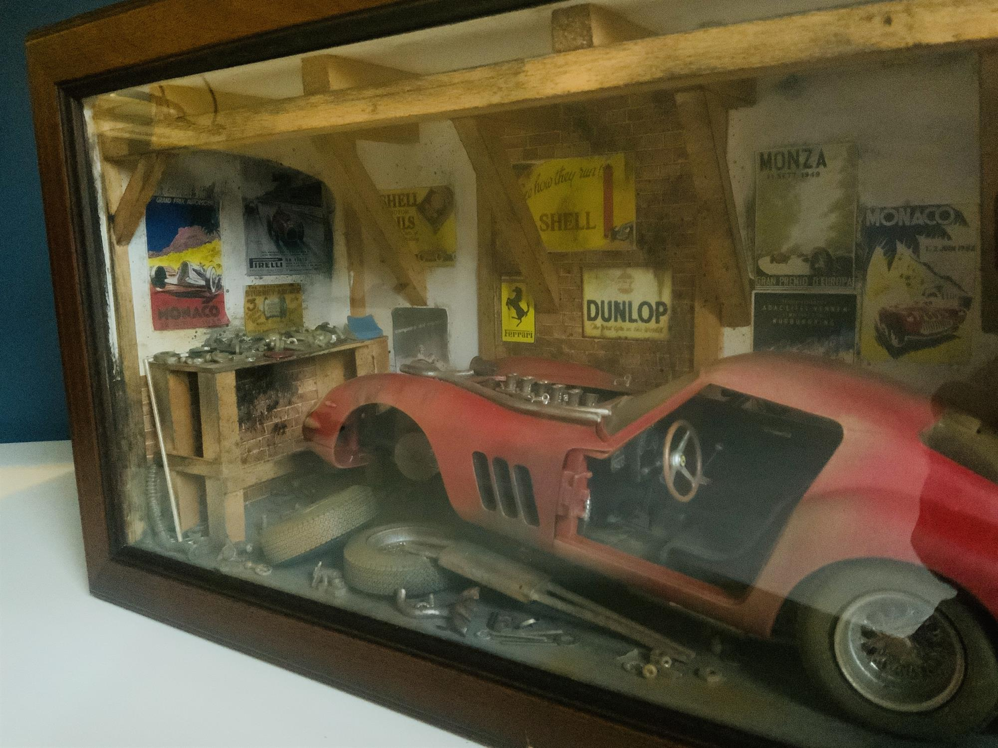 Ferrari 250 GTO Diorama by Classic Car Art - Image 5 of 5