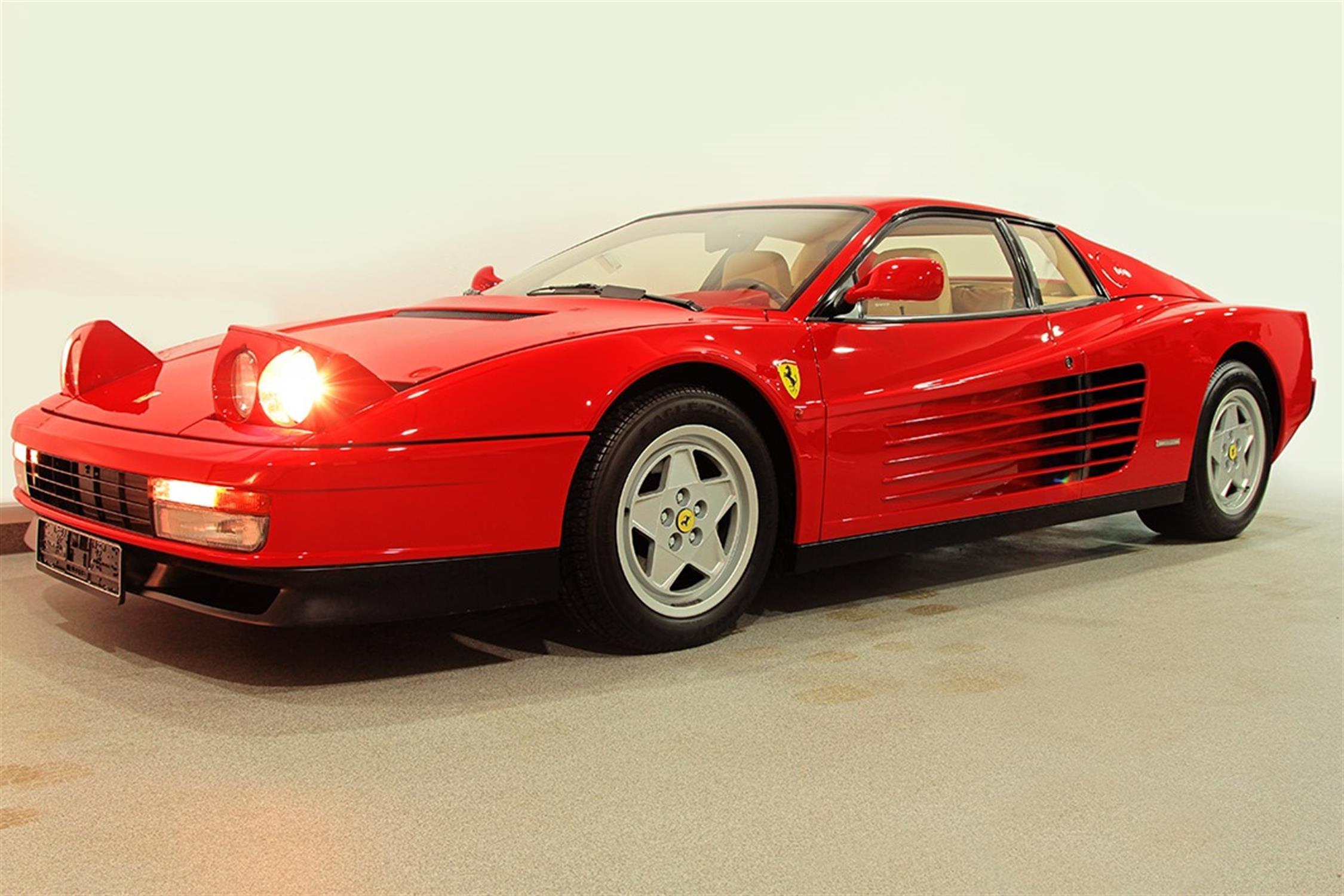 1991 Ferrari Testarossa - 1,829 Kilometres From New & Classiche'd