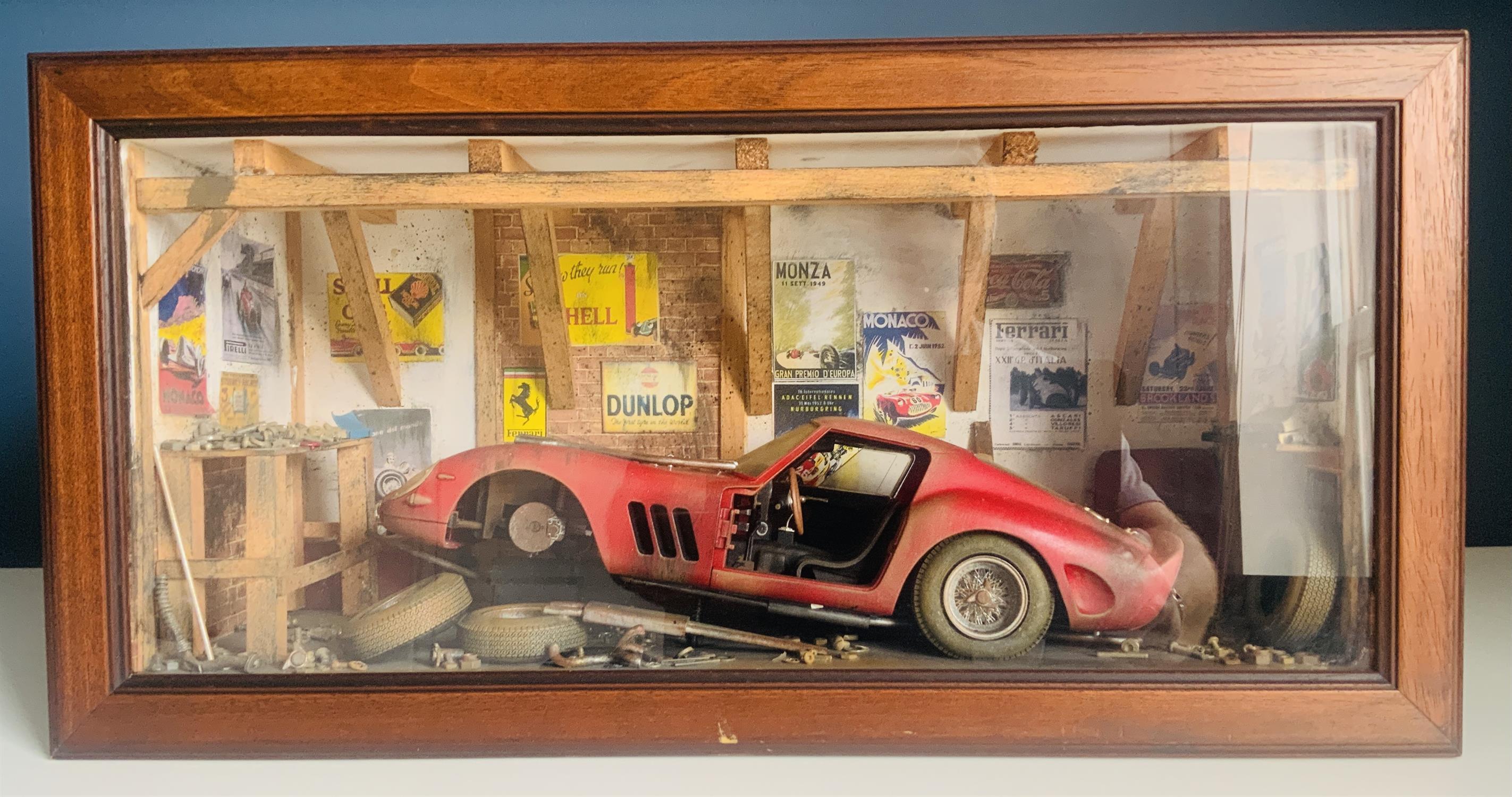 Ferrari 250 GTO Diorama by Classic Car Art