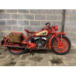 1946 Indian Scout 500cc