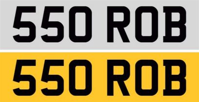 Registration Number 550 ROB
