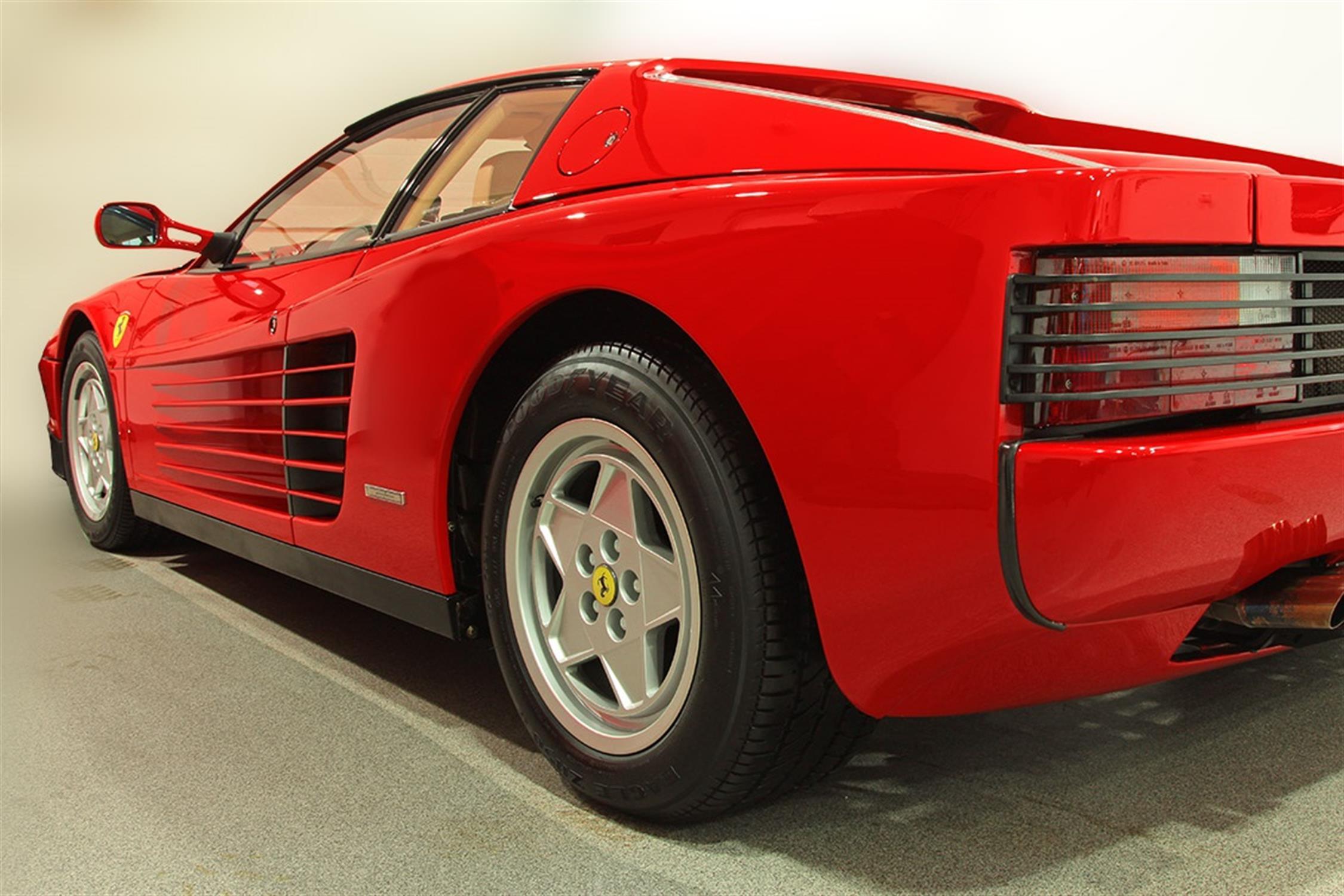 1991 Ferrari Testarossa - 1,829 Kilometres From New & Classiche'd - Image 3 of 15