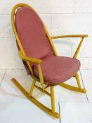 Ercol rocking chair.