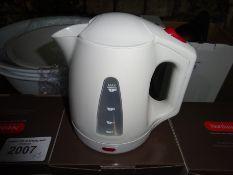 Three President hotel safety kettles.