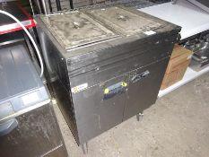 Parry hot cupboard bain marie, 240v, width 85cms, depth 64cms and height 97cms.