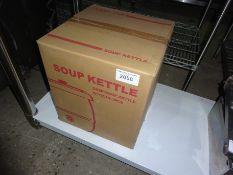 New soup kettle, 240v.