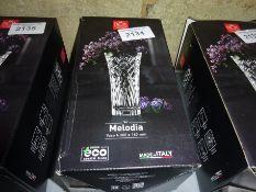 New Melodia crystal vase.