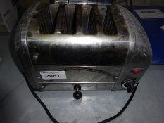Four slice toaster.