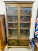 Mahogany Edwardian bookcase