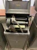 Edison phonograph dictating machine 'Ediphone' with metal case. This item carries VAT.