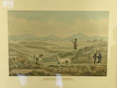 Two framed and glazed sporting prints, and 5 other prints