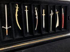 """Collection of 20 Mayfair Edition """"Magic Swords"""", in original case."""