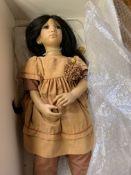 "Annette Himstedt ""Morgana"" doll, boxed, 1996"