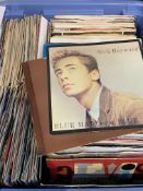 Box of approximately 100 x 7 inch singles