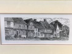 Six various framed and glazed engravings