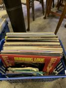 Quantity of LPs and singles.