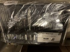 Salter 24 piece cutlery set. This item carries VAT.