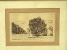 Five various prints