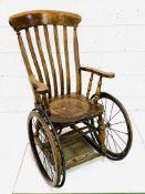 Victorian invalid chair