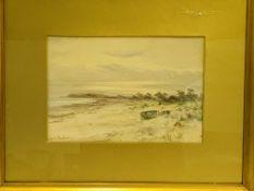Gilt framed and glazed watercolour signed Arthur Maugham
