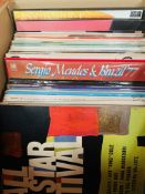 Fifty-two assorted LP's