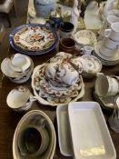 Assorted chinaware.