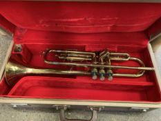 Hsinghai trumpet in hard case