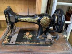 Jones' Family C.S decorative manual sewing machine