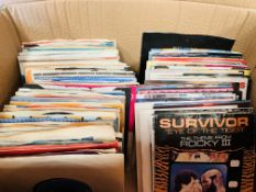 Approximately one hundred and twenty 45 rpm singles
