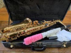 Gilt lacquer Fortissimo Alto Saxophone