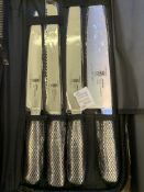 Samurai nine piece knife set