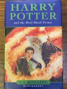Harry Potter and the Half-Blood Prince, by J K Rowling, first Edition, hard back.