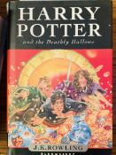 Harry Potter and the Deathly Hallows, by J K Rowling, first Edition, hard back.