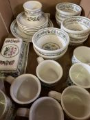 25 pieces of Portmeirion 'Variations' pottery