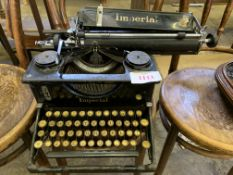 Early 20th Century Imperial typewriter