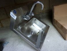 Stainless steel hand sink, new
